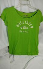 Hollister Malibu, CA Womens T Shirt Green Sz XS