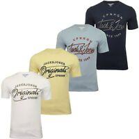 Jack & Jones Mens 'JORPEX' T-Shirt Short Sleeved Crew Neck