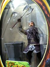 """ToyBiz Lord of the Rings Fellowship of the Ring - Gimli Action Figure 5""""+ NEW"""