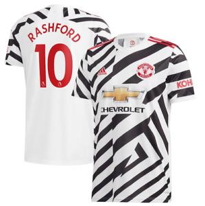D150 Kids 15-16 yrs Manchester United Cup Third Shirt 2020-21 Free Rashford 10
