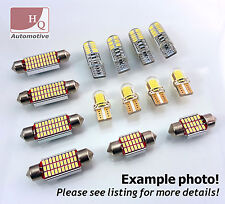 NEW! 4014 SMD LED INTERIOR Bulbs KIT WHITE CanBus fit Vauxhall ASTRA G MK4