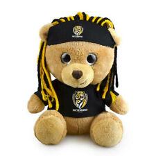 Korimco 20cm AFL Sparkle Fanatic Children Bear Richmond Stuffed Toy Gift Brown