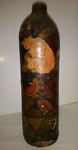 1830 German Clay Jug APOLLINARIS-BRUNNEN-M-W With OLD Original Applique NICE