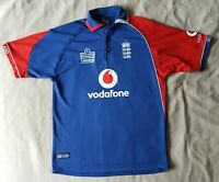 """England ODI Vodafone Cricket Shirt by Admiral - Size 11-12 Years 36"""""""