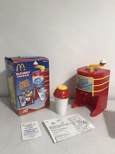 McDonalds 2003 McFlurry Maker Ice Cream Retro Mckids Dessert Mixer Spin Master