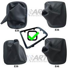 Funda de pomo para palanca de cambio para Bmw E30 E36 E39 E46 con marco incluido
