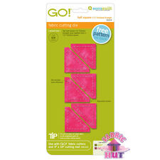 Accuquilt GO! Fabric Cutting Die Half Square 1 1/2' Finished Triangle 55319