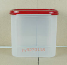 Tupperware Modular Mates Square III with Cranberry lid + Free Shipping