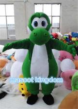 Yoshi Dinosaur Mascot Costume Super Mario Character Cosplay Fancy Dress Adult