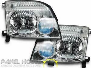 Nissan XTRAIL X-Trail T30 01-07 PAIR L+R Head Lamp NEW ADR Light Replacement