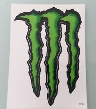 Monster Energy Drink Original Green Black Claw Sticker 9 Inch X 6.5 Inch 800463