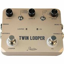 Rowin LTL-02 Twin Looper Station Electric Guitar Effect Pedal Loop Station
