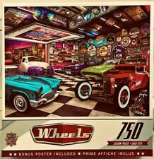 Wheels - Collector's Garage - 750 Pcs Jigsaw Puzzle