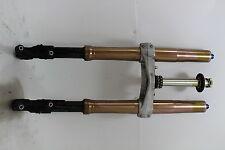 07-08 Suzuki Gsxr1000 Front Forks Shock Suspension Set Left Right BENT Gsxr 1000