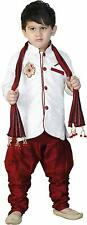 Indian ethnic wear for kids boys dhoti kurta sherwani all size 1 yr - 10 yr