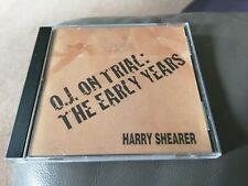 OJ on Trial The Early Years HARRY SHEARER OJ Simpson Comedy CD RARE