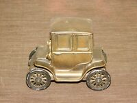 "VINTAGE 4 3/4"" LONG CATSKILL SAVINGS BANK NY  1910 BAKER ELECTRIC CAR METAL BANK"