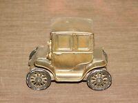 """VINTAGE 4 3/4"""" LONG CATSKILL SAVINGS BANK NY  1910 BAKER ELECTRIC CAR METAL BANK"""