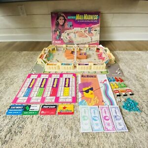 Vintage Mall Madness Board Game 1989 Complete Electronic Works!