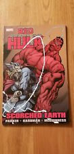 RED HULK: SCORCHED EARTH BY PARKER & HARDMAN~ MARVEL TPB NEW IRON MAN THOR