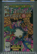 FANTASTIC FOUR #251  CGC 9.8  White Pages Annihlus Appearance  FREE SHIPPING