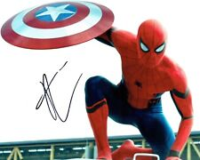 Tom HOLLAND SIGNED Autograph SPIDER-MAN 10x8 Photo AFTAL COA Spider Man