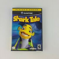 DreamWorks Shark Tale Nintendo GameCube 2004 Game Manual and Case Tested