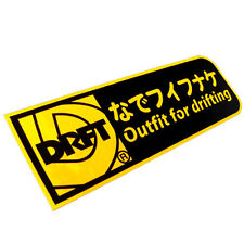 Outfit for drifting Set up tuning JDM stickers decals racing car japan magazine