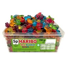 Haribo Bear Buddies Sweet & Sour 780 g Tub of Sweets 120 Approximate Candy