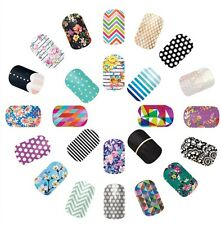 Jamberry Nail Wraps Lot 40 Samples 80-120 Accent Nails New Set