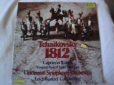 TCHAIKOVSKY 1812 CAPRICCIO ITALIEN CINCINNATI SYMPHONY ORCHESTRA VINYL LP STEREO