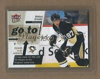 SIDNEY CROSBY GO TO PLAYERS INSERT CARD