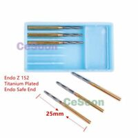 6pcs dental Endo Z bur 152 Tungsten Burs 25mm FG Carbide Zekrya Burr