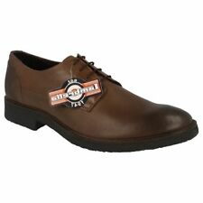 Lambretta Round 100% Leather Formal Shoes for Men