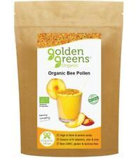 Golden Greens® Organic Raw Spanish Bee Pollen 250g, Nourish Your Body, Naturally