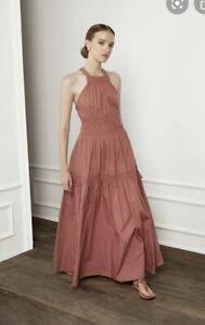 NWT Magali Pascal Roma Appoline Maxi Dress Size S AU 8 US 4 RP$419