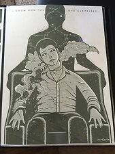 Dave Quiggle Earthling Fringe Joshua Jackson Art Print TV Poster Mondo 18x24 Dvd