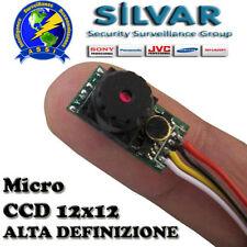 MICRO Telecamera  SONY 800TVL  ALTA DEFINIZIONE 8X8 mm OK