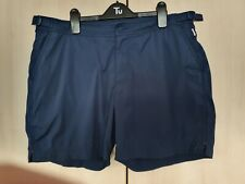 Authentic Orlebar Brown navy Bulldog Swim Beach Shorts W34