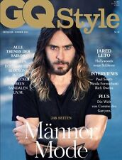 GQ Style Germany Jared Leto,Paul Smith,Nicola Formichetti,Rick Owens,Paul Smith