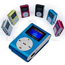 REPRODUCTOR LECTOR MP3 PLAYER RADIO FM ALUMINIO MINI USB MICRO SD 8GB CASCOS