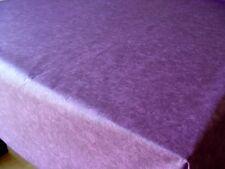 Baumwolle Tischdecke Tischtuch Schnittdecke abwaschbar 100x140cm lila marmor
