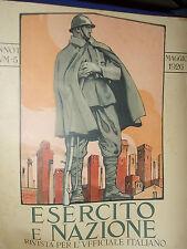 WW1 ESERCITO E NAZIONE RIVISTA PER L'UFFICIALE ITALIANO REGIO ESERCITO 5/1926