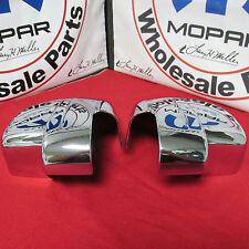 Dodge Nitro Jeep Liberty Chrome Side Mirror Covers NEW OEM MOPAR