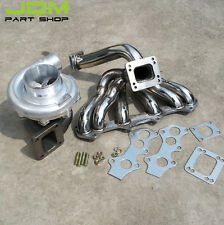 Toyota Supra 1JZ VVTI JZX100 Turbo Manifold& T4 AR.80 AR.68 water 800+hp set 4a