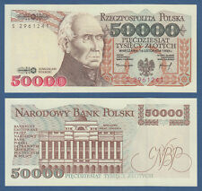 POLEN / POLAND 50.000 Zlotych 1993 UNC  P.159