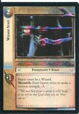 Lord Of The Rings CCG Foil Card MoM 2.C29 Wizard Staff