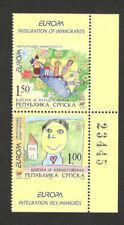 BOSNIA SERBIA - MNH PAIR AUT OF BOOKLET (B) - EUROPA CEPT - 2006.