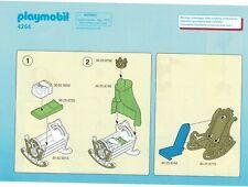 Playmobil Bauanleitung 4254 Amme mit Babywiege