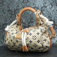 Rise-on LOUIS VUITTON MONOGRAM Cruise Line BULLES MM Nylon Beige Shoulder bag #2